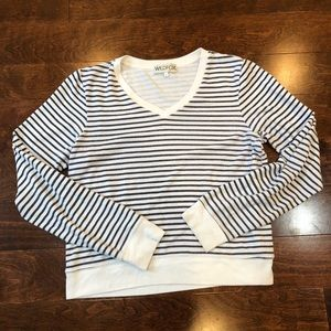 Wildfox Striped Sweatshirt
